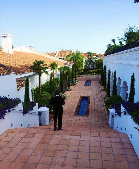 Westin LaQuinta Marbella Spain Staircase