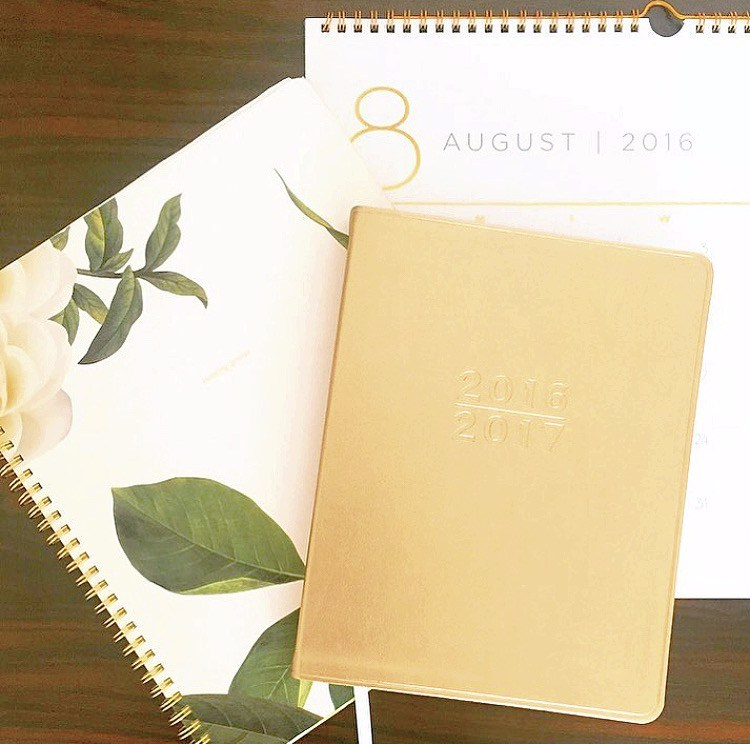 Kate Spade Notebook, Planner and Calendar