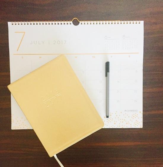 Planner-Calendar-Pen